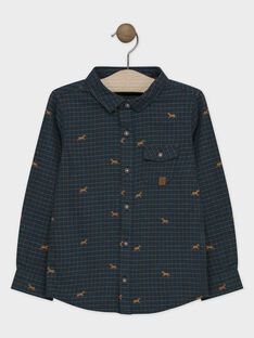 Navy Shirt SACOURAGE / 19H3PGC1CHM705