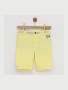 Golden yellow Bermuda RYZOAGE / 19E3PGS3BER106