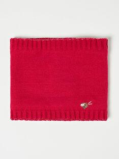 Snood en tricot rouge VUHAETTE / 20H4PFI2SNO304
