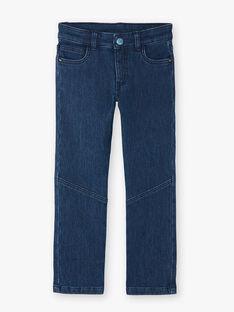 Jeans brut en molleton effet denim  VUSTEPHAGE / 20H3PGS1JEAK005