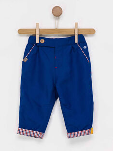 Pantalon bleu marine PABLOT / 18H1BG21PAN715