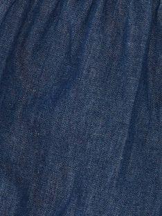 Short en denim bleu foncé ZACHARLINE / 21E1BFI1SHOK005