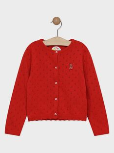 Cardigan Rouge TUMOETTE / 20E2PFH3CAR050