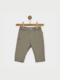 Kaki pants RAALLAN / 19E1BG21PAN604