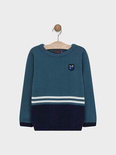 Medium turquoise Pullover SAMIAGE 2 / 19H3PG92PUL209