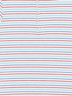 Body t-shirt manches courtes à rayures  ZAKAMARO / 21E1BGJ2BOD000