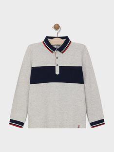 Heather grey Polo shirt SAMATAGE 3 / 19H3PG93POL943