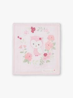 Lot de 6 lingettes roses et blanches naissance fille BOZENA / 21H0AF41ACD301