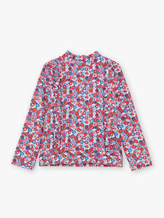 Tee-Shirt anti-uv Bleu ciel ZAIJUETTE / 21E4PFR1TUV020