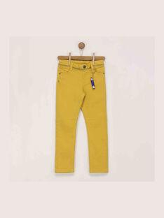 Yellow pants RAXOAGE / 19E3PG62PANB106