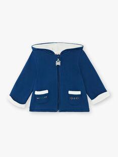 Gilet bleu marine à capuche  VANORTH / 20H1BGU1GIL702