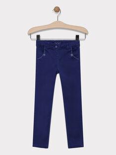 Navy pants SAPOLETTE 2 / 19H2PF93PAN070