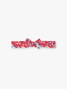 Bandeau rouge inmprimé papillon  ZAFRANCE / 21E4BFB2BAN050
