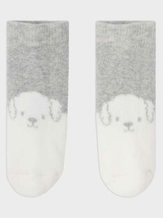 Heather grey Socks SYBASIL / 19H0AGM1SOQ943