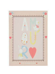 Affiche Rose pale Roamouraff ROAMOURAFF / 19EZNAX1AFF301