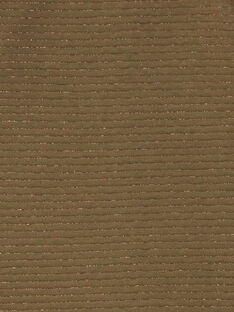 Gilet teddy kaki fil lurex ZASOETTE / 21E2PF71CAR604