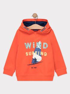 Sweat Shirt Orange TUSITAGE 2 / 20E3PG92SWEE400