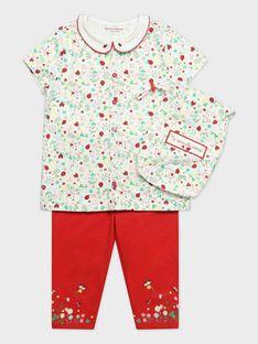 Pyjama imprimé petite fille  TEJYSSETTE / 20E5PF73PYJ001