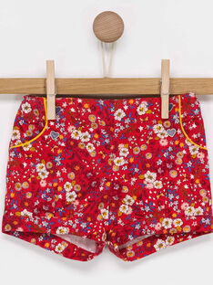 Red Shorts PAANIE / 18H1BF21SHO050