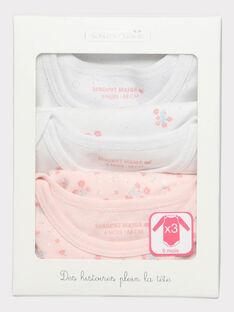 Body Lingerie ecru bébé fille SECAROLE / 19H5BF81BDL301
