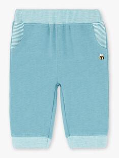 Pantalon de jogging bleu ZACAMILO / 21E1BG91JGBC233