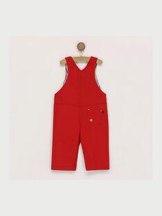 Salopette rouge RAERWAN / 19E1BGC1SAL505