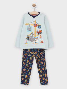 Pyjama Bleu TEGRUAGE / 20E5PG73PYJ205