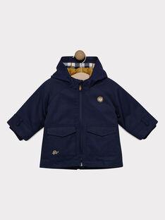 Navy Rain coat SINAEL / 19H1BG71IMP070