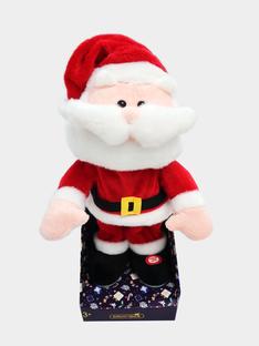 Mon Père Noël dansant <br>• Peluche animée SMAPL0019 / 20J7GM71PE5099