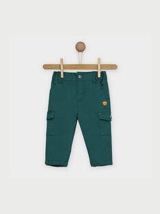 Pantalon vert RACLYDE / 19E1BG61PANG611