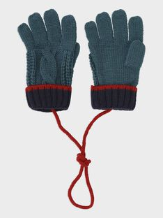 Lagoon blue Gloves SIMANAGE / 19H4PGN1GAN210