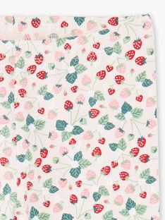 Caleçon rose claire imprimé fraises ZOJUETTE / 21E4PFJ1CAL301