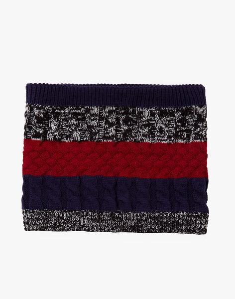 Snood à torsades en tricot  VITOAGE / 20H4PGI3SNO070