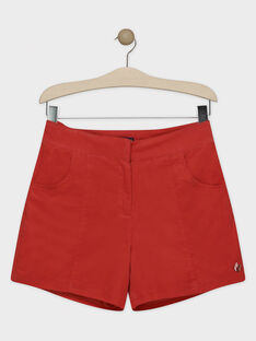 Short en velours orange femme SUBALEF / 19H2FFC1SHOE406