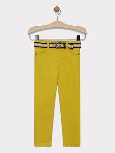 Yellow pants SAZAGE / 19H3PG43PANB106