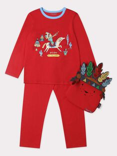 Spice red Pajamas TIJAMAGE 1 / 20E5PG53PYTF509