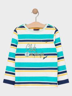 Tee Shirt Manches Longues Turquoise TEBELAGE / 20E3PGD1TML209