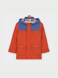 Orange Rain coat RATIMAGE / 19E3PG41IMP405