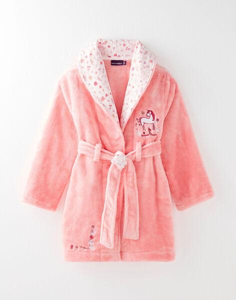 Robe De Chambre Rose Petite Fille Pyjama Enfant Sergentmajor