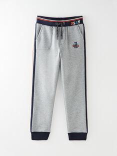 Pantalon en molleton gris chiné VEVOAGE / 20H3PGM2PAN944