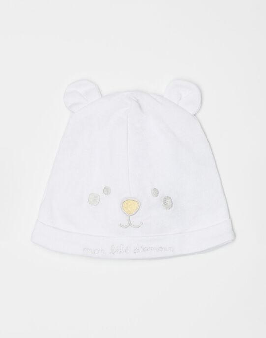 Bonnet écru bébé mixte  TUVASCO / 20E0AMR1BNA000