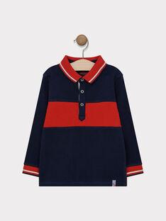 Navy Polo shirt SAPAGE / 19H3PG31POL713