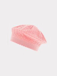 Bonnet rose  RABERET / 19E4BF21BON413