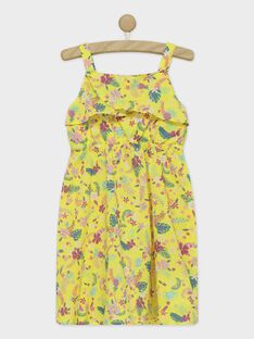Lemon yellow No sleeves dress ROYGLETTE / 19E2PFQ1RBS108
