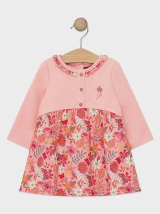 Baby rose Dress TABELLE / 20E1BFB1ROB307