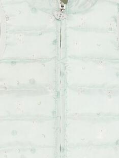 Doudoune sans manches matelassée kaki réversible  ZUBENITO / 21E1BGM1GSM604