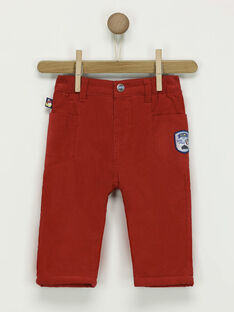 Pantalon rouge  PATIM / 18H1BGQ2PANF518