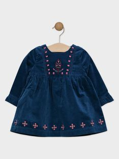 Navy Dress SAPASCALE / 19H1BFI2ROB714