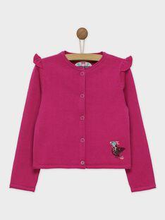 Pink Cardigan ROYMIETTE / 19E2PFQ1CARD302