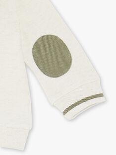 Sweat zippé à capuche beige ZAADAM / 21E1BG71JGH009